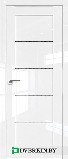 Межкомнатная дверь PROFIL DOORS 2.11L (Дождь чёрный)